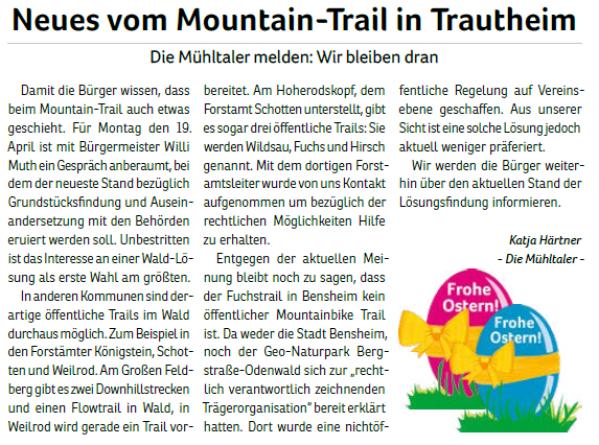 2019-05_Neues vom Mountain-Trail in Trautheim